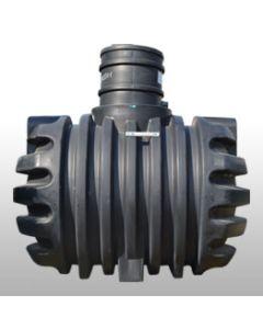 Ondergrondse Mazouttank HDPE, VLAREM 2 conform, 2950 liter