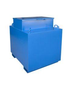 Metalen werftank - 1100 liter - met of zonder pomp