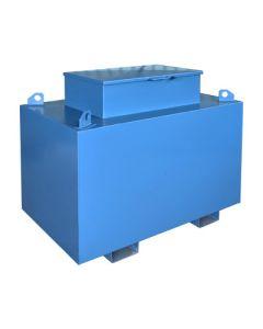 Metalen werftank - 1500 liter - met of zonder pomp