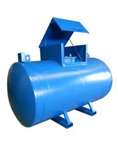 Metalen werftank - 3000 liter - met of zonder pomp