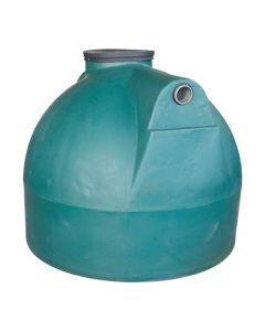 Ondergrondse ronde septische put in kunststof van 2000 liter