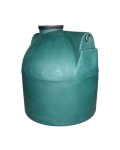 Ondergrondse ronde septische put in kunststof van 3000 liter