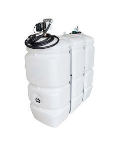 1500 liter kunststof mazouttank met dieselpomp (220V)