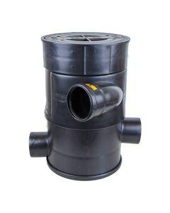 Ondergrondse regenwaterfilter - zelfreinigend