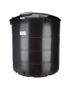 Bovengrondse Ronde Tank - 6250 liter - met mangat