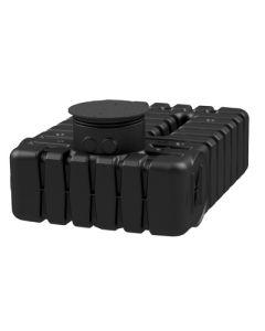 Ultraplatte kunststof regenwaterput - 2500 liter