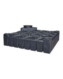 Ultraplatte kunststof regenwaterput - 3000 liter