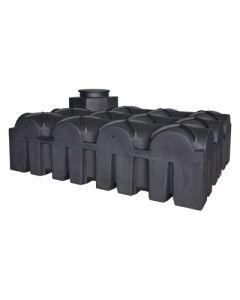 Ultraplatte kunststof regenwaterput - 5000 liter