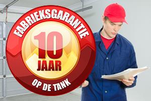 10 jaar fabrieksgarantie