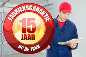 dieseltanks garantie